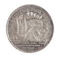 Medalj, Makalös och Blaiseholmen, 1801 - Skoklosters slott - 110753.tif