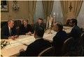 Meeting between Jimmy Carter and King Hussein of Jordan - NARA - 177375.tif