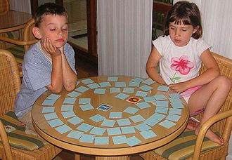 Concentration (game) - Variously themed cards are available for players of all age groups.