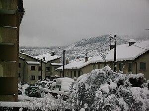 Autre vue de Mende en hivers