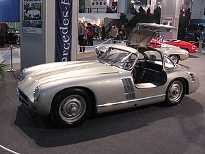 Max Hoffman - Prototype Mercedes-Benz 300SL, developed at Hoffman's suggestion for the U.S. marketplace