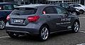 Mercedes-Benz A 180 CDI BlueEFFICIENCY Urban (W 176) – Heckansicht, 10. November 2012, Velbert.jpg