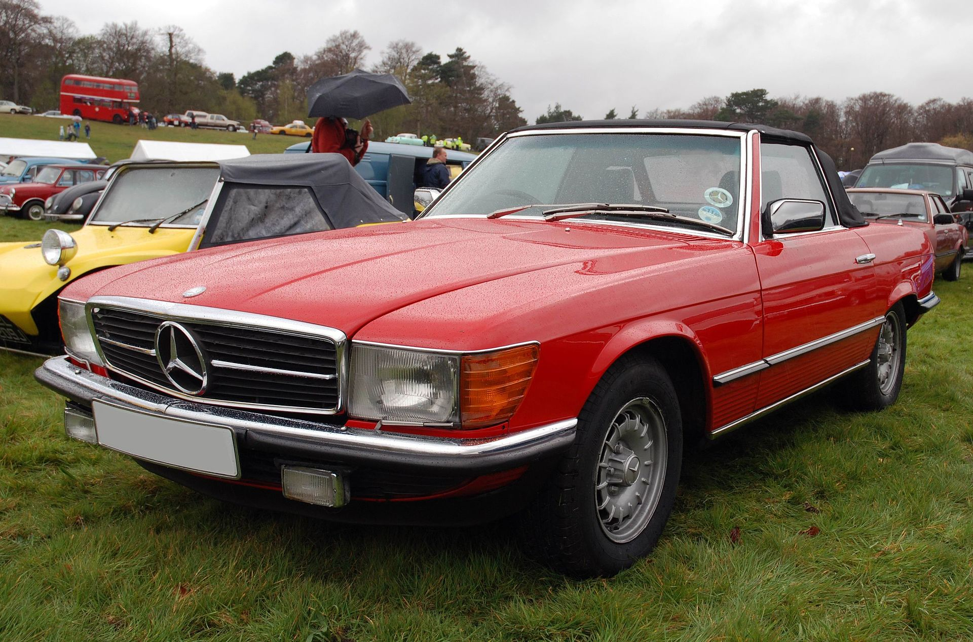 Mercedes benz baureihe 107 wikipedia for Mercedes benz 80s