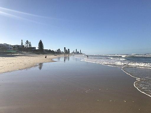 Mermaid Beach, Queensland looking North