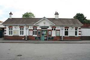 Merstham railway station - Image: Merstham Station