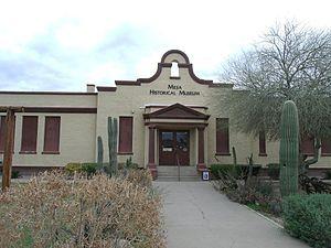 Mesa Historical Museum - Image: Mesa Lehi School 1913