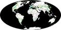 Mesozoic Dinosauria Distribution PBDB.png