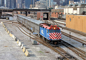 SouthWest Service - Image: Metra South West Service 827