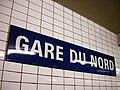 Metro de Paris - Ligne 4 - Gare du Nord 02.jpg