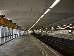 Slinge metro station - Image: Metro slinge 1st