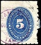 Mexico 1887 5c Sc204 used CAMARGO.jpg