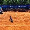 Michaela Spaanstra during a international match.jpg