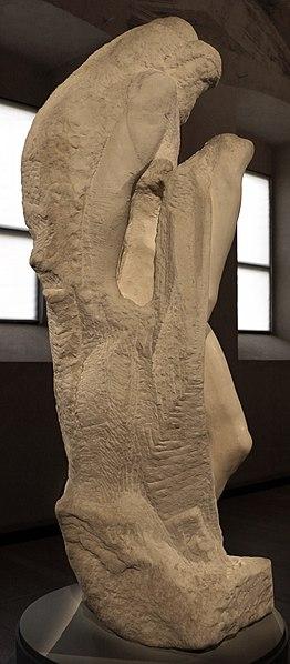 File:Michelangelo, pietà rondanini, 1552-1564, 08.JPG