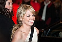 Michelle Williams a la Berlinale de 2010.