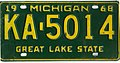 Michigan 1968 license plate KA-5014.jpg