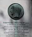 Mieczysław Woroniecki by Endre Hajdú, 2019 Lipótváros.jpg