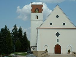 Mietingen, parish church St Lawrence