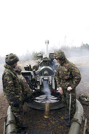 207 (City of Glasgow) Battery Royal Artillery - Image: Mikey breach