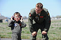 Miles 'Batkid' Scott becomes pilot for a day 140410-Z-NJ935-052.jpg