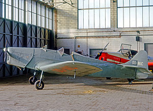 Miles Magister - Many Magisters were exported postwar, this example being registered in Belgium.