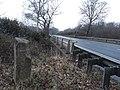 Milestone beside A3, Bramshott Common, Hampshire 07.jpg