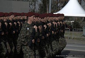 Counter-Terrorist Battalion (Serbia) - Belgrade Military Parade.