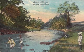 Mill River (Northampton, Massachusetts) Tributary of the Connecticut River in Hampshire County, Massachusetts, USA