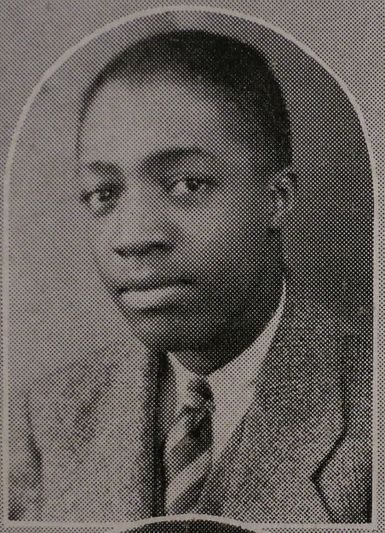 Milt Hinton from his high school yearbook (1930), from the Milton J. and Mona C. Hinton Collection, Oberlin Conservatory Library special collections