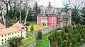 Miniatura zamku Książ w parku miniatur w Kowarach DSCF3678.jpg