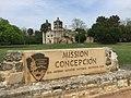Mission Concepcíon San Antonio TX NPS Sign.jpg