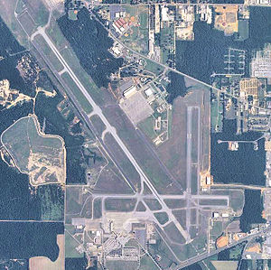 Mobile Regional Airport - USGS 2006 orthophoto