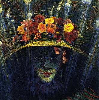 1911 in art - Image: Modern Idol by Umberto Boccioni, 1911 Estorick Collection