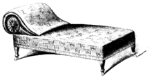 Chaise longue - Wikipedia on chaise furniture, chaise sofa sleeper, chaise recliner chair,
