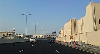 Al Gharrafa District in Al Rayyan, Qatar