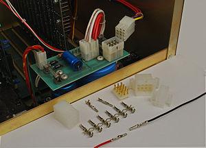 Molex connector - Molex Standard 0.093 inch pin and socket connectors