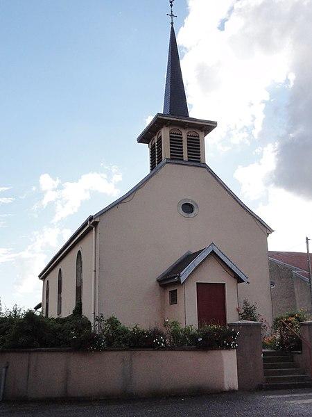 Moncel-lès-Lunéville (M-et-M) église