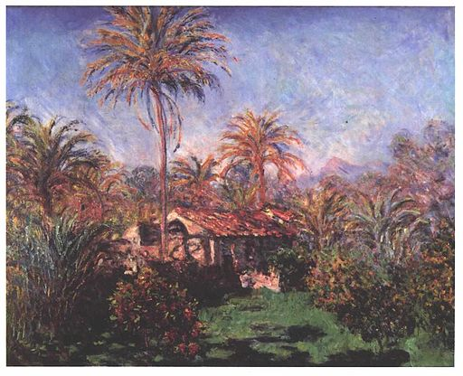 Monet - Palmen in Bordighera
