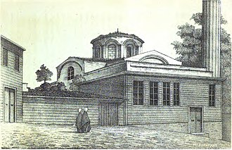 Bodrum Mosque - The mosque in 1877