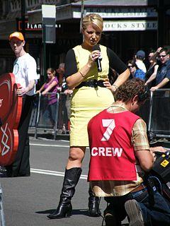 Monique Wright Australian television journalist