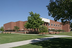 Monmouth College - Housing about a half million items, the Hewes Library also contains ancient antiquities and thousands of Native American artifacts.