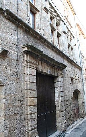 Montagnac, Hérault - Hôtel de Pegat