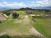 Monte Albán en el estado de Oaxaca