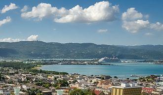 Montego Bay - Cruise ship at Montego Bay