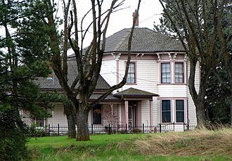National Register of Historic Places listings in Sherman County, Oregon - Image: Moore House Moro Oregon