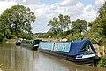 Moored boats at Clifton Cruisers boatyard - geograph.org.uk - 1414808.jpg