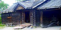 Mora Farmstead Dwelling house and stable Skansen.JPG
