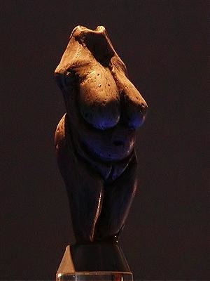 Paleolithic Europe - Venus of Moravany, dating back to 22,800 BC, discovered in Slovakia early in the 20th century