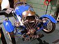 Morgan Super Sports 3-wheeler, 1931, made by the Morgan Motor Co., Malvern, England, 35 HP, 2 cylinder, gasoline engine - Luray Caverns Car and Carriage Museum - Luray, Virginia - DSC01317.jpg