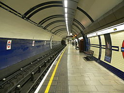 Mornington Crescent southbound