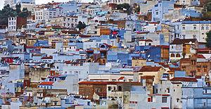 Moroccan architecture - A Moroccan townscape